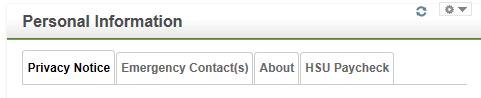 Paycheck screenshot
